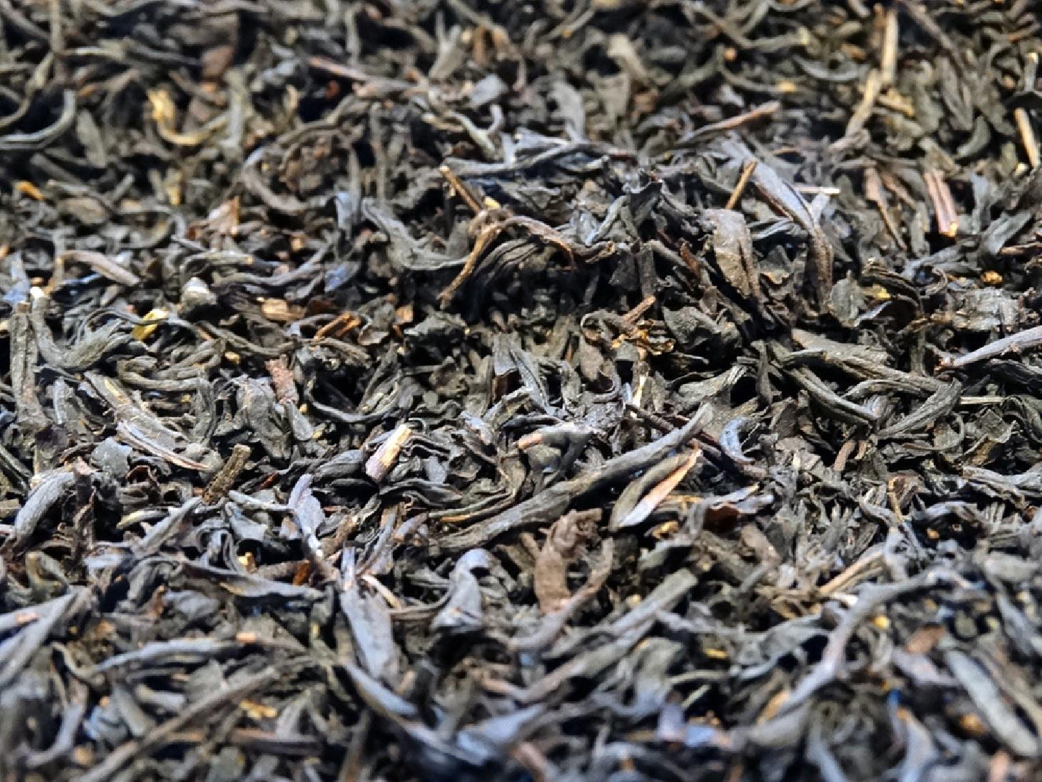 flavored black tea, old-fashioned licorice.