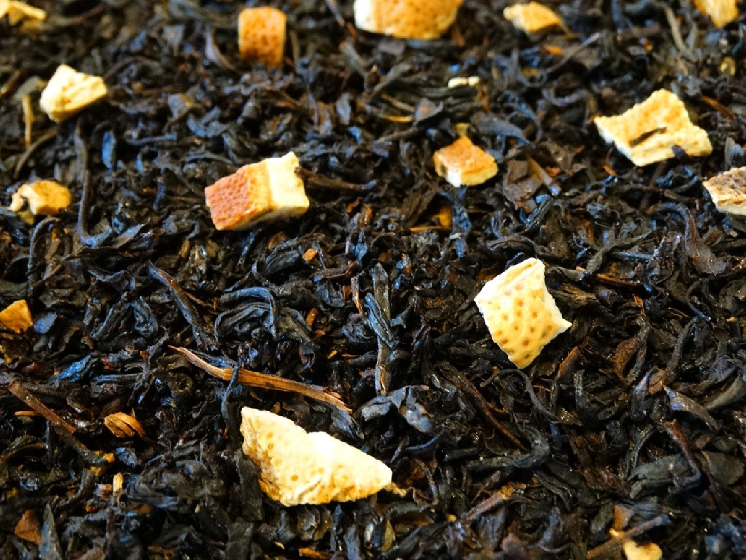 flavored black tea, Russian flavour bergamot, citrus fruits, spices