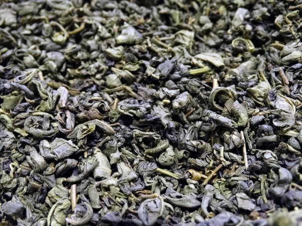 thé vert gunpowder pour faire du thé à la menthe maison chine pure origine Tea & Cie
