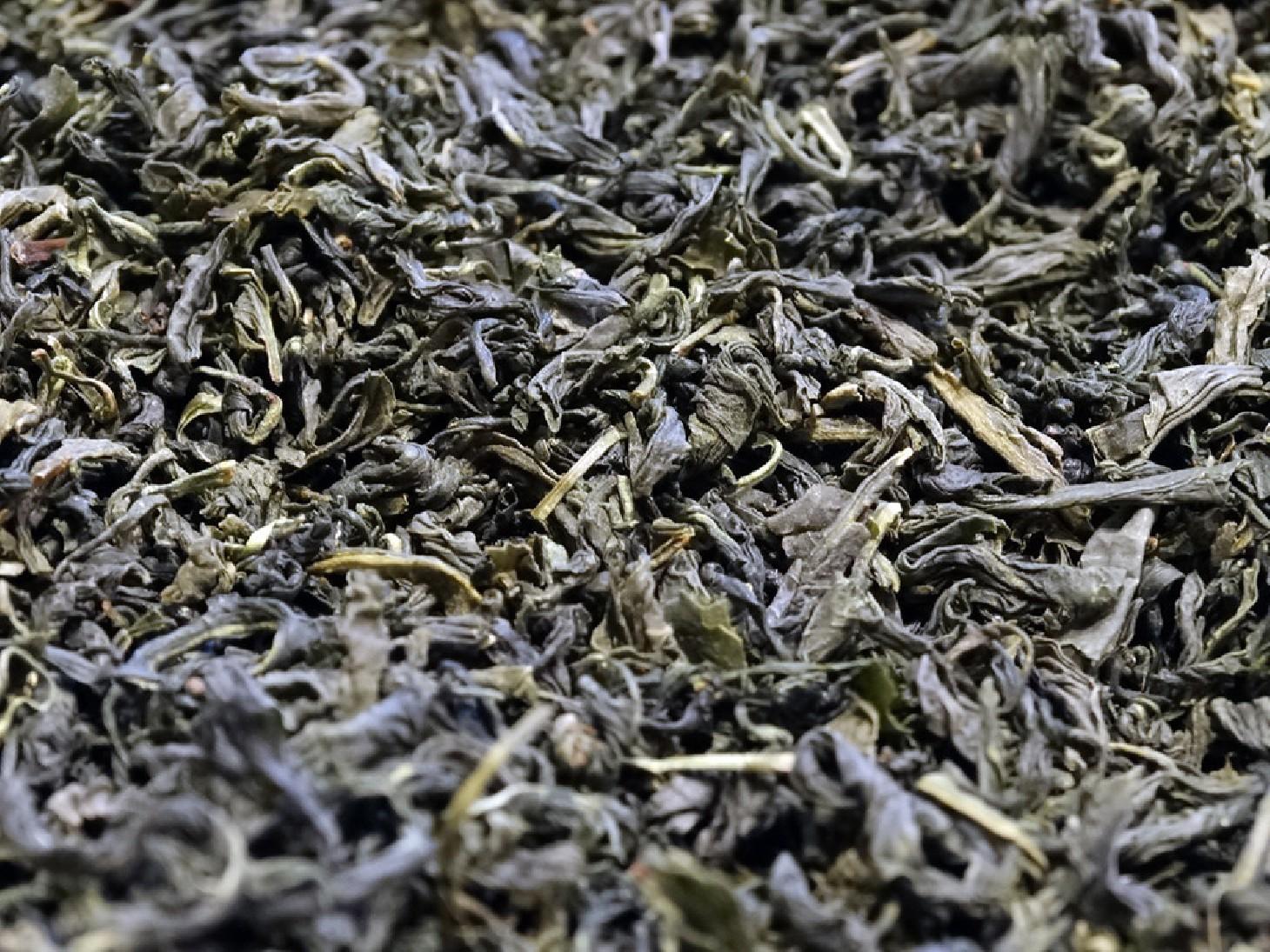 Green tea from Jeju Island in South Korea
