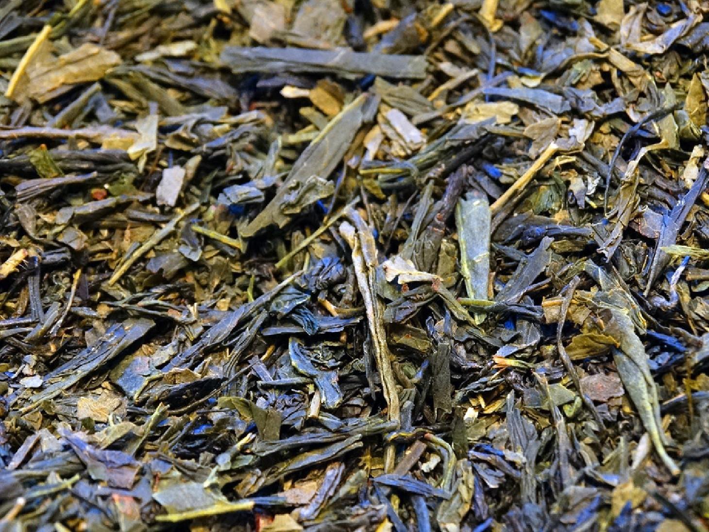 Green tea Sencha from Japan, District of Kakegawa