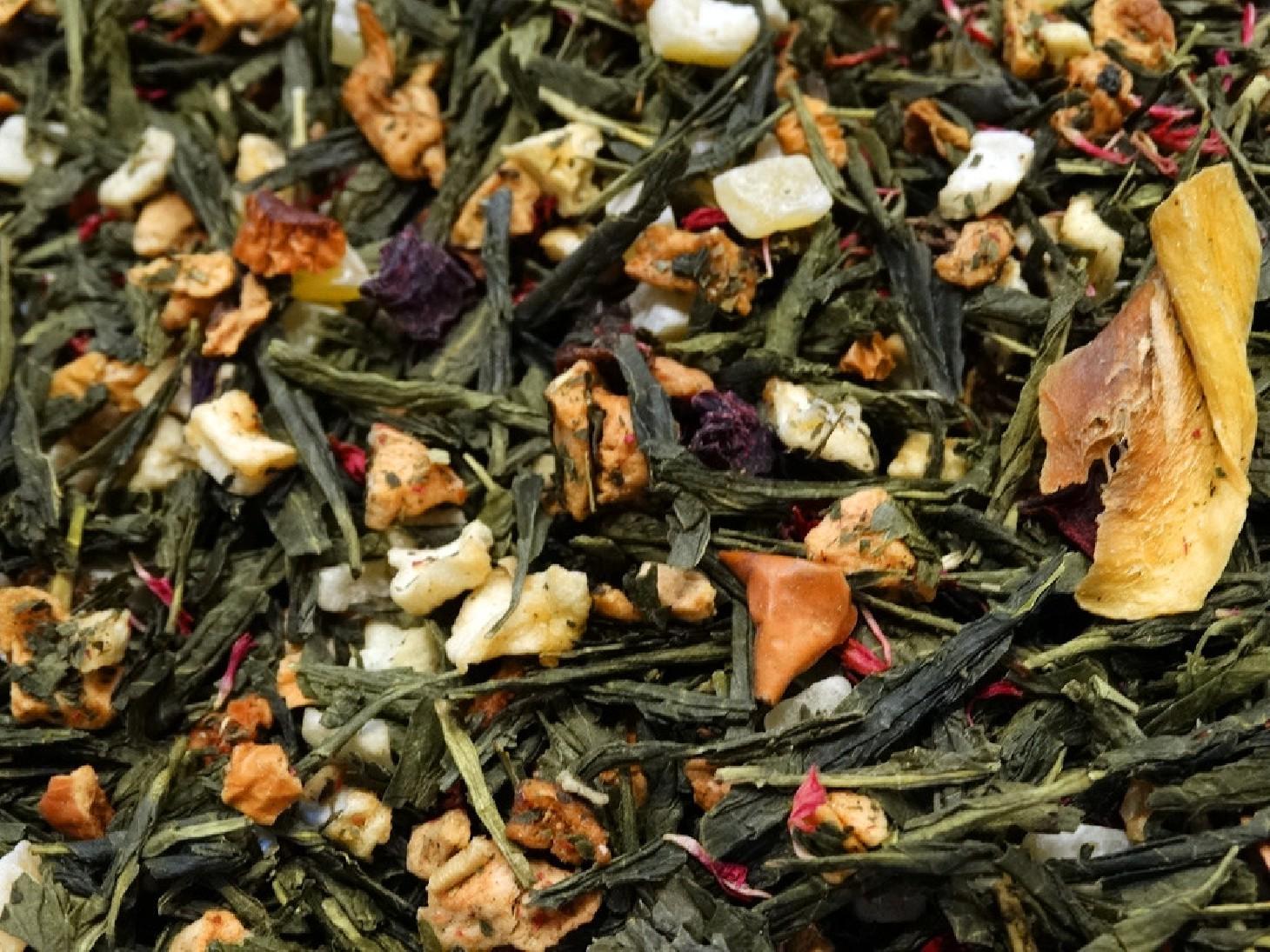 thé vert aromatisé 48 lunes par Tea & Cie maison de thé