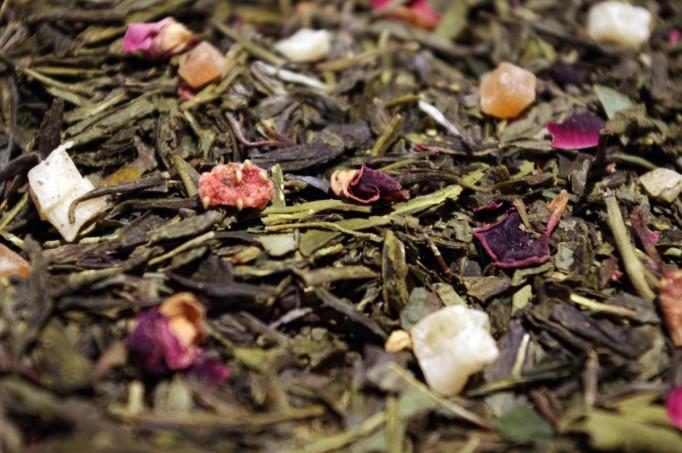 thé blanc et vert aromatisé Bahia sunrise par Tea & cie Maison de thé à Vannes