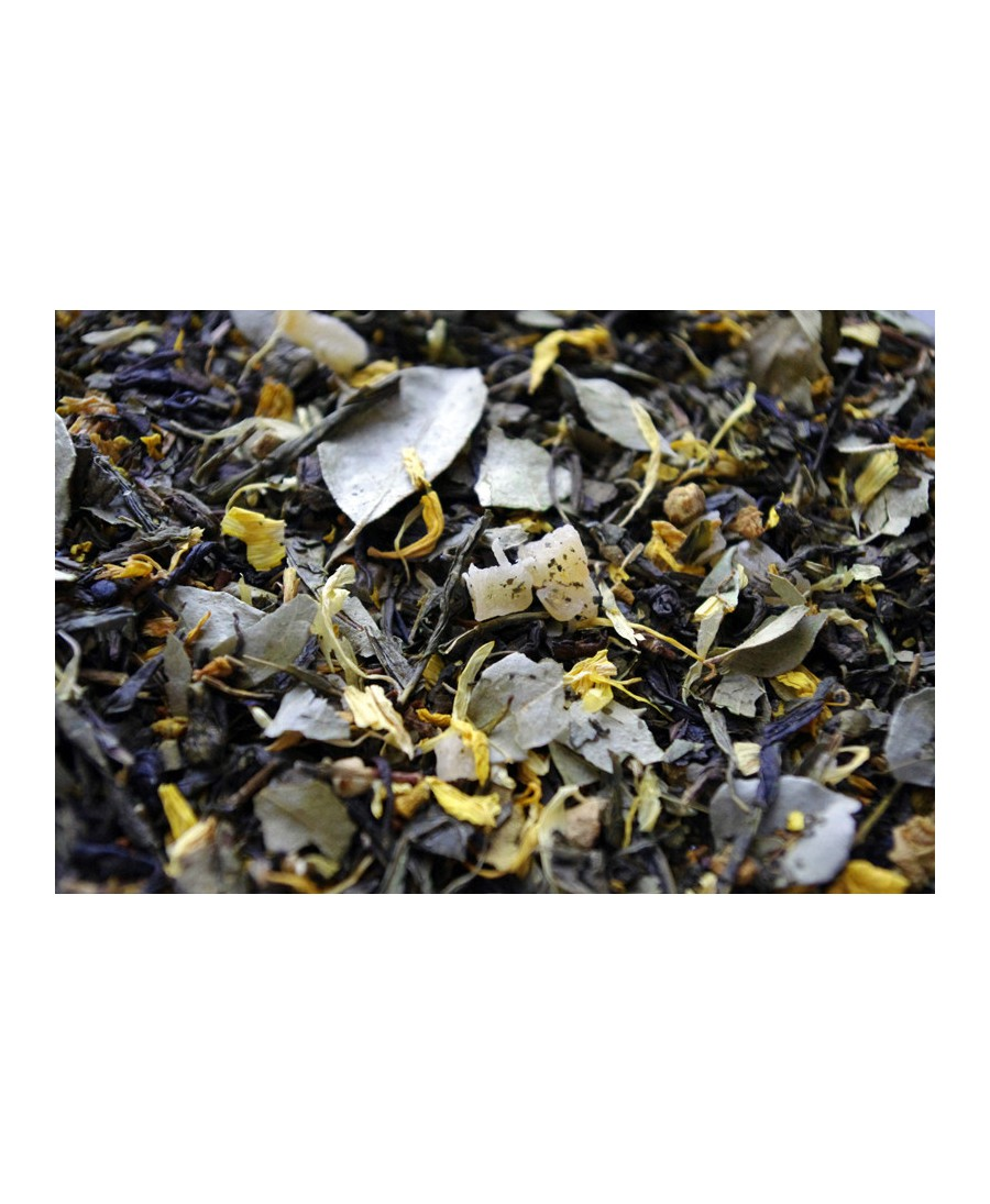 thé vert aromatisé Bangalore Express par Tea & cie comptoir de thé  à Vannes en Bretagne