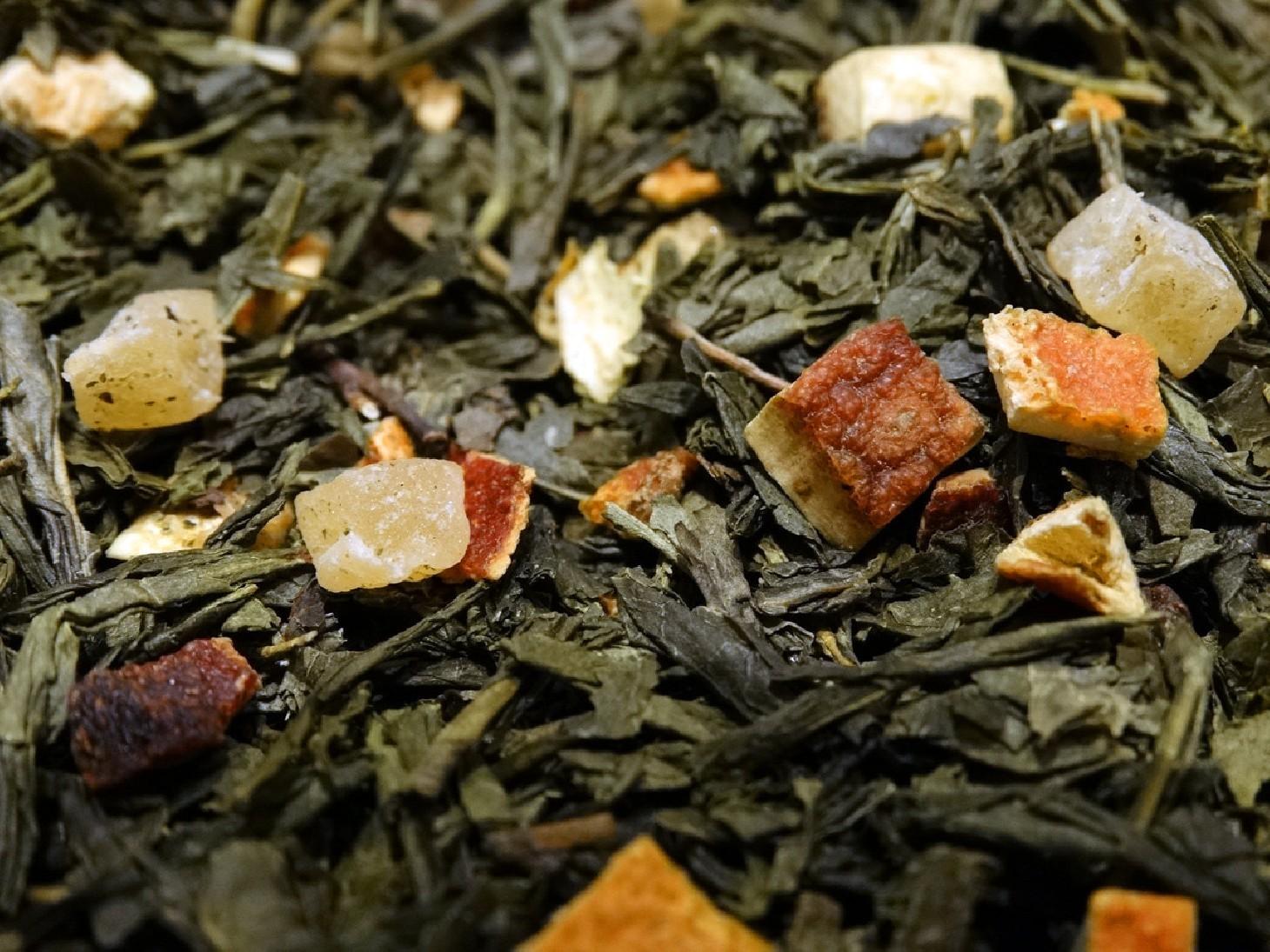 thé vert parfumé ananas firenze par tea & cie comptoir de thé