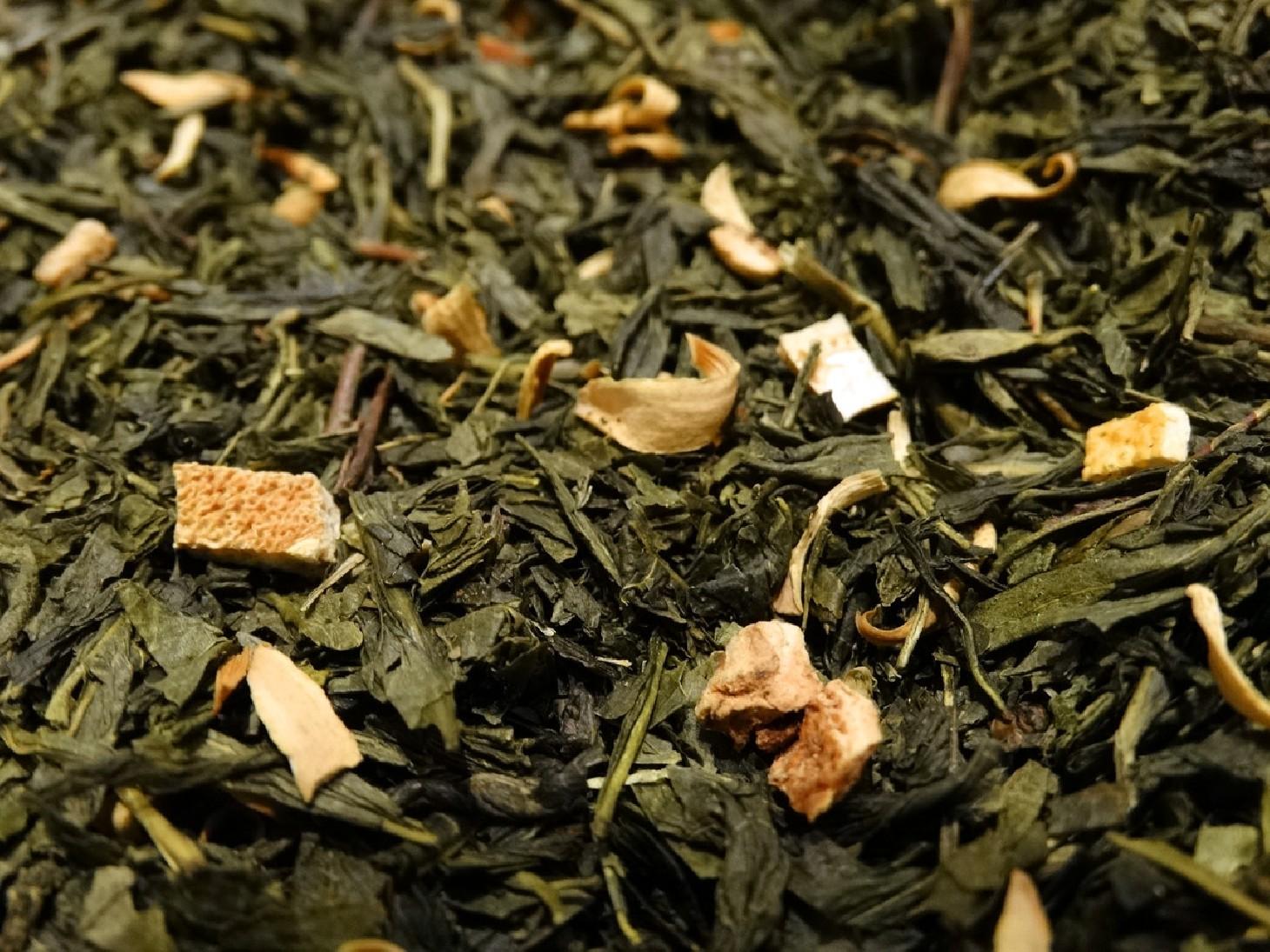 thé vert green earl grey parfumé bergamote comptoir de thé en ligne Tea & Cie www.teacie.com