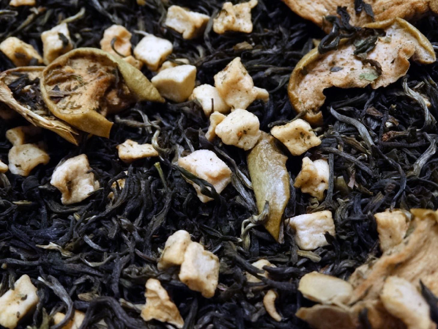 thé vert à la pomme par Tea & Cie boutique de thé à vannes morbihan