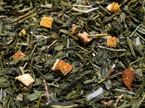 thé vert citron citronnelle ling par Tea et Cie comptoir de thé à Vannes 56000