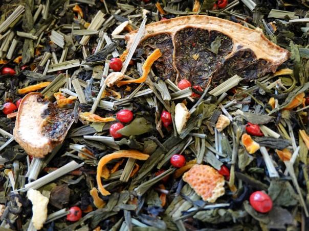 thé vert orange épices océan way par Tea & Cie boutique à Vannes