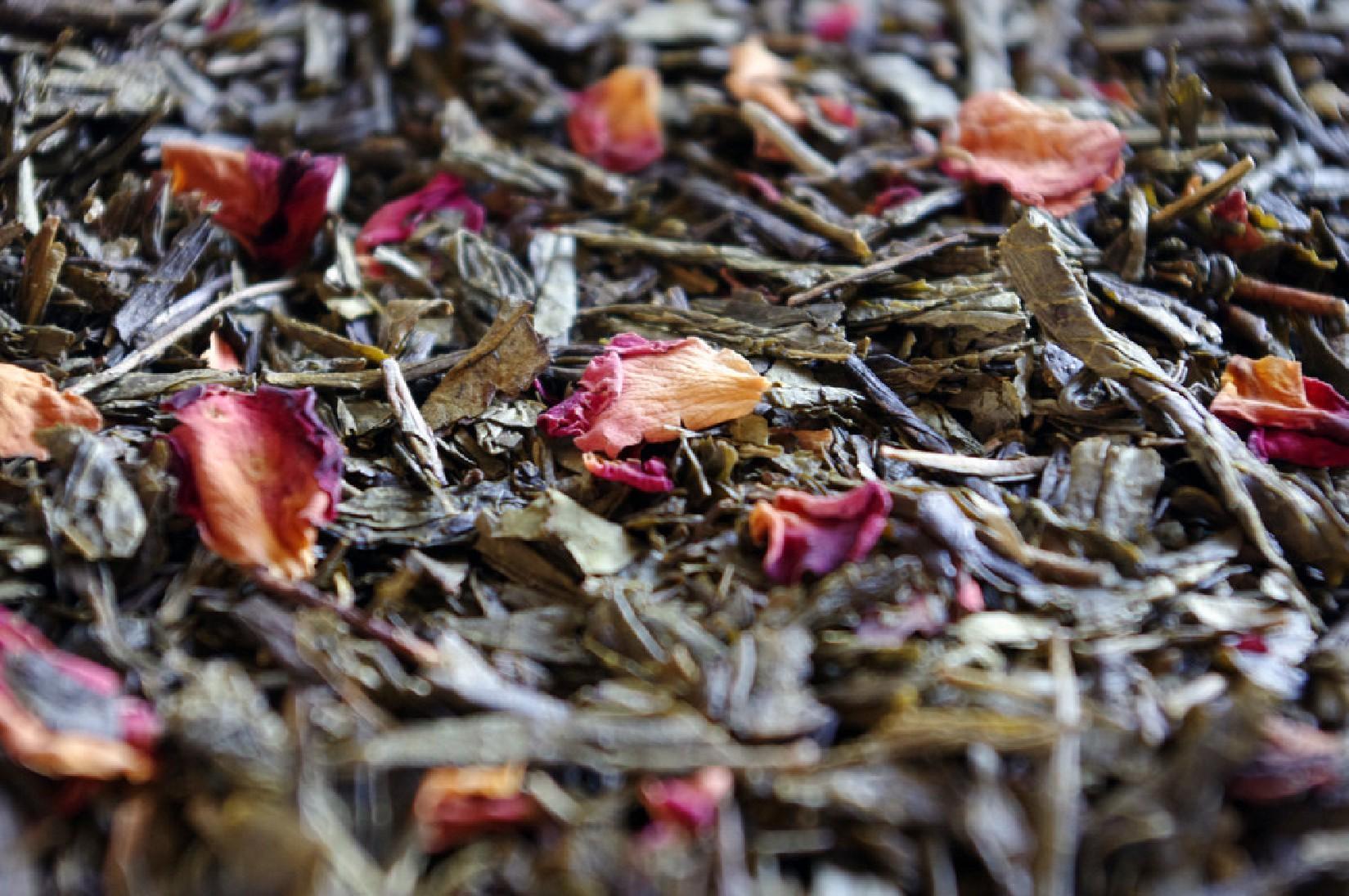 thé vert aromatisé sencha fleuri pamplemousse fraise par Tea & Cie acheter du thé