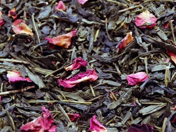 thé vert Sencha sakura fleur de cerisier par Tea & Cie comptoir de thé d'excellence