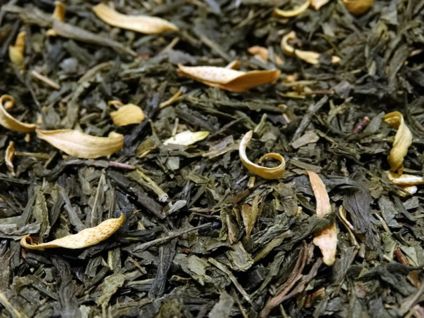 Thé vert à l'orange Sencha Valencia par Tea & Cie commander du thé en ligne
