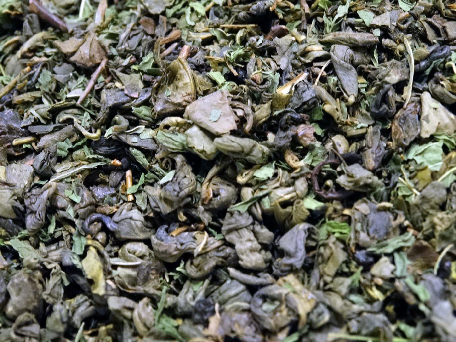 thé vert à la menthe par Tea & cie comptoir de thé à Vannes 56000 France bretagne