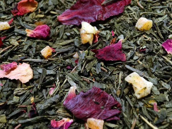 thé vert aromatisé windsor fruits rouges papaye ananas par Tea et Cie maison de thé de référence