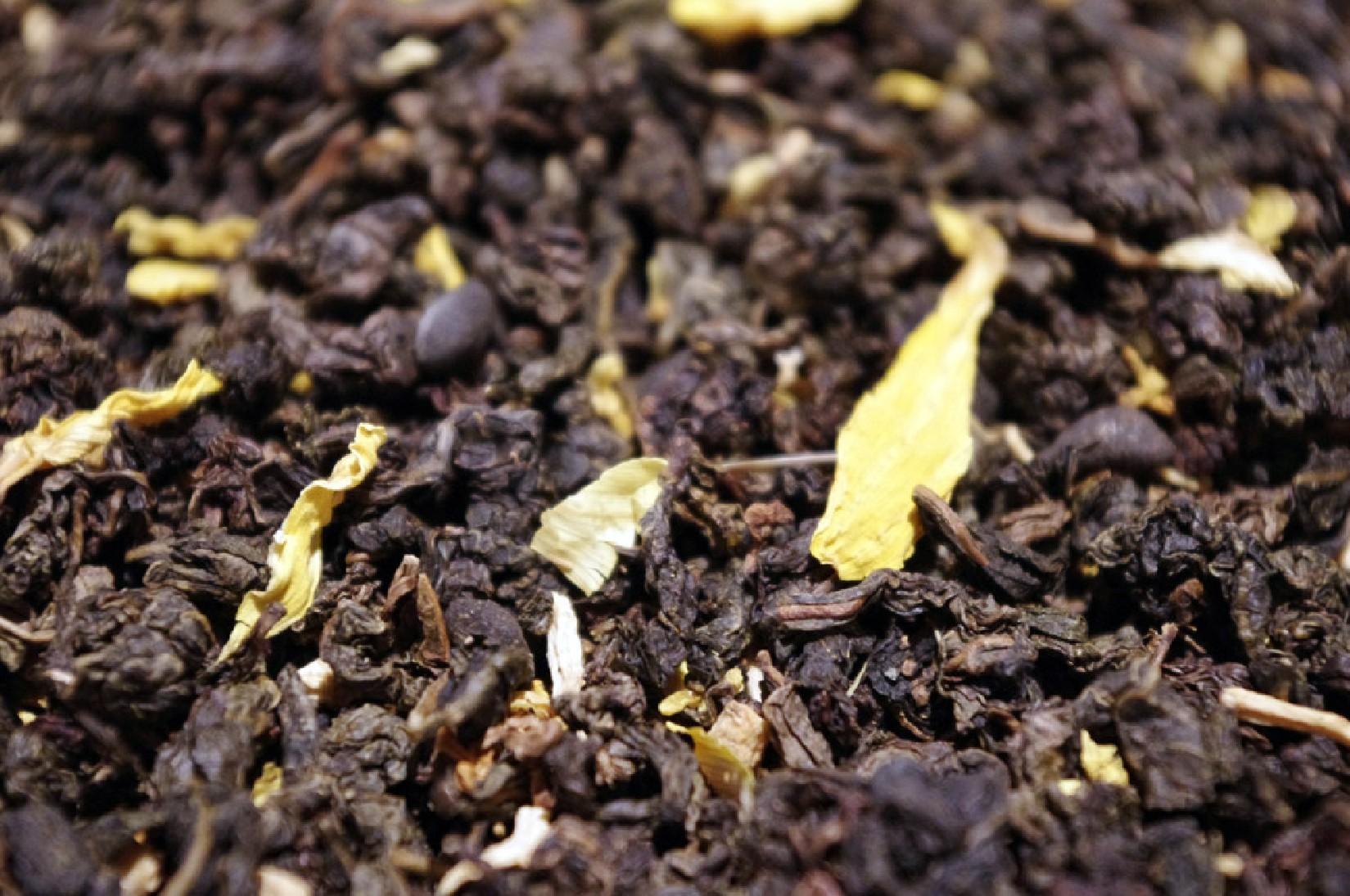 forme bien être thé oolong morceaux de ginseng Tea & Cie boutique en ligne de thé www.teacie.com