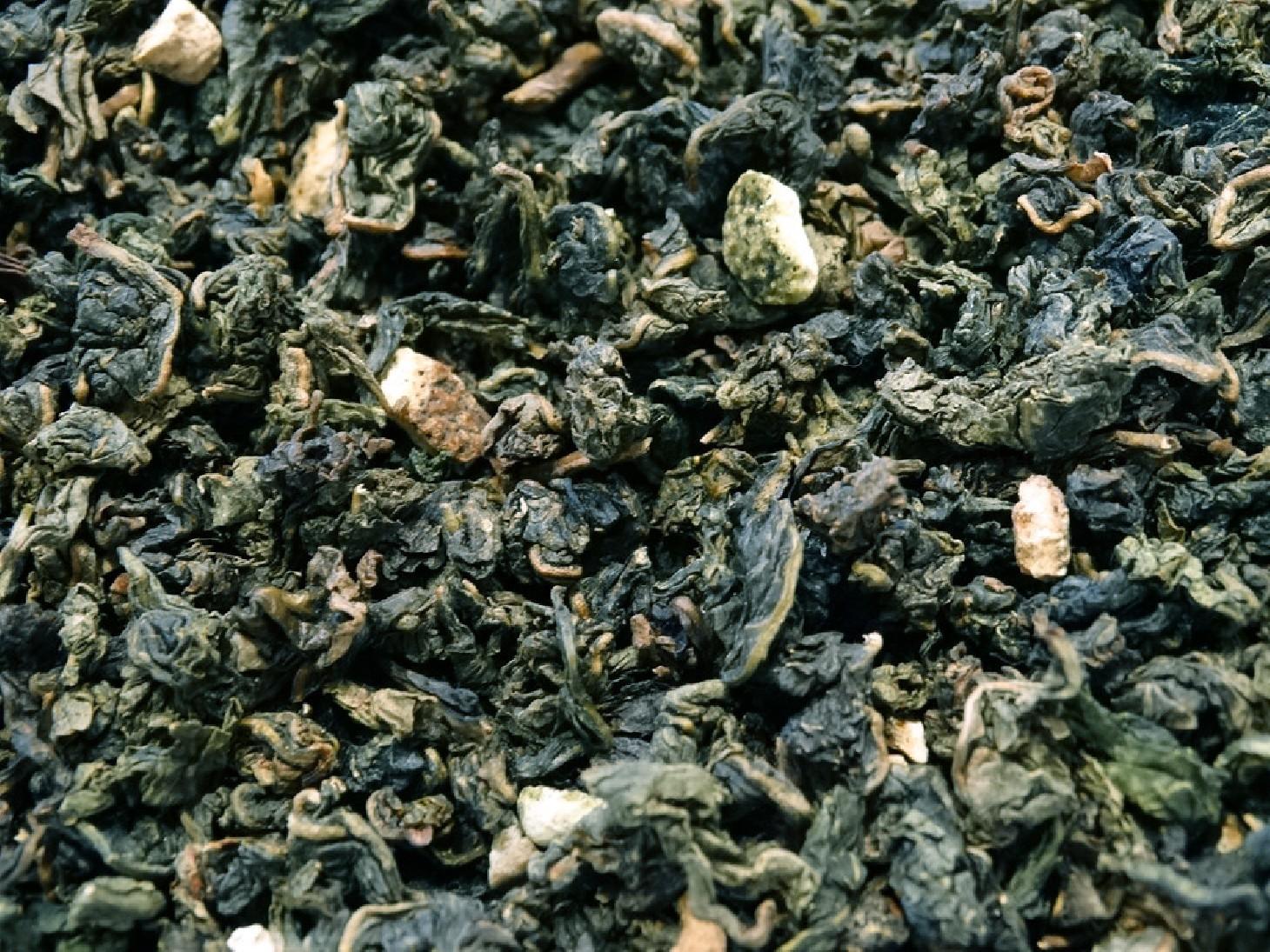 thé bleu oolong forme et bien être gingembre spiruline algue bleue citron tea & cie tonus