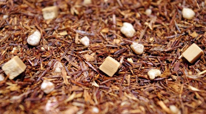 infusion sans théine rooibos caramel doux thé rouge tea & cie