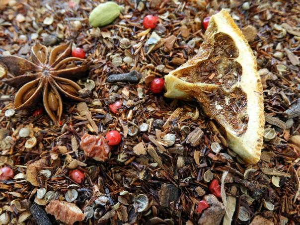 infusion sans théine de noel rooibosh christmas club par tea & cie thé rouge boutique à Vannes 56000 golfe du morbihan