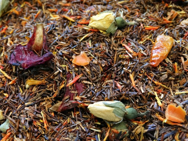 Red Rooibos, Bird Peppers, Kirsch Cherry, Rose Buds, Petals