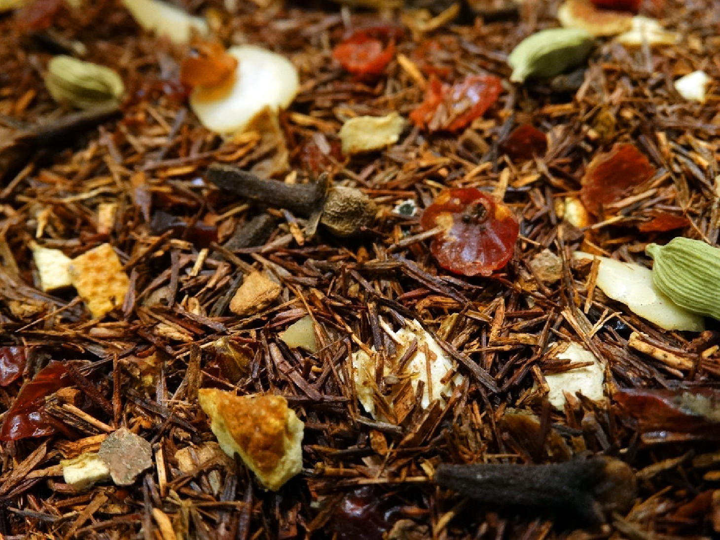 Rooibos orange, spices, almond