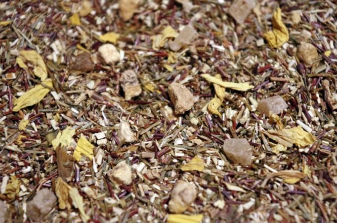 infusion sans théine rooivosh vert trinidad orange ananas mangue gingembre par Tea & Cie boutique de thés en ligne