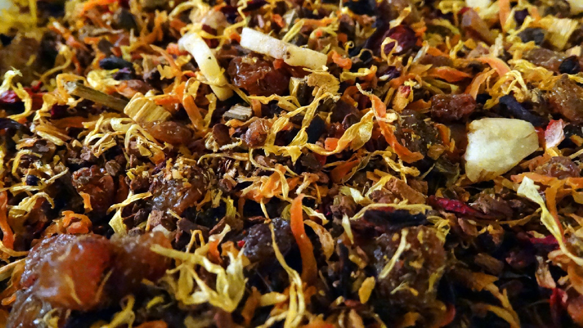 infusion sans théine fruits et délices Tea & Cie comptoir de thé golfe du morbihan vannes