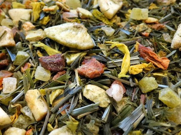 Infusion sans théine de plantes et de fruits du mékong par Tea et cie comptoir de thé en ligne