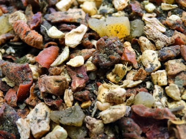 Infusion sans théine gingembre et mangue par tea & cie boutique de thé