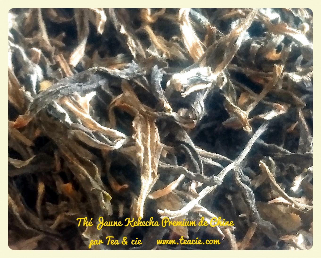 thé jaune kekecha de chine par Tea & Cie france boutique en ligne