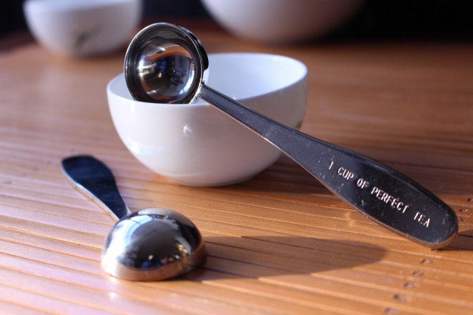 cuillère dose à thé 2 grammes pour une tasse accessoires du thé tea & cie www.teacie.com