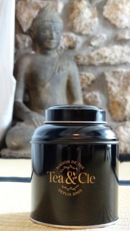 la petite boite jaune noire et or Tea & Cie www.teacie.com