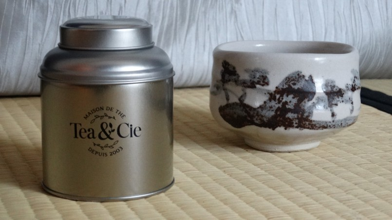 La petite boite jaune plu brossé argent metal tea & cie www.teacie.com