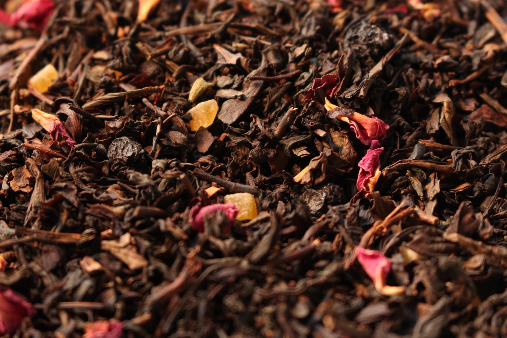 thé bleu oolong aromatisé shambhala fruits de la passion par Tea & Cie boutique de thés sur internet
