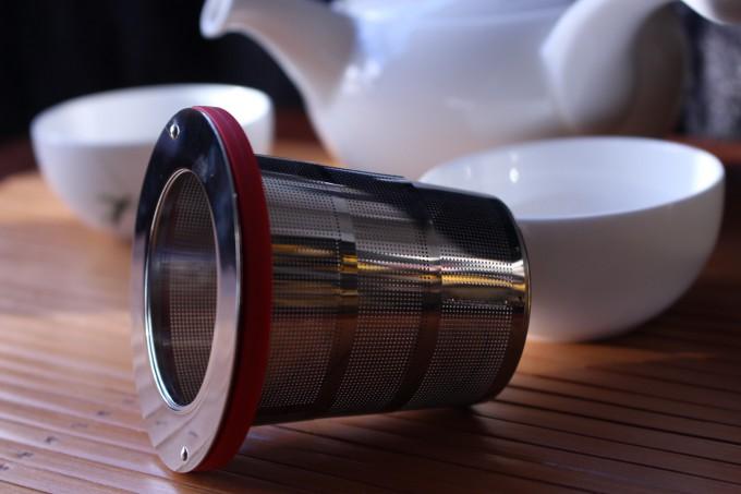 filtre à thé universel de voyage pliant intox premium accessoire infuser boule à thé tea & cie boutique