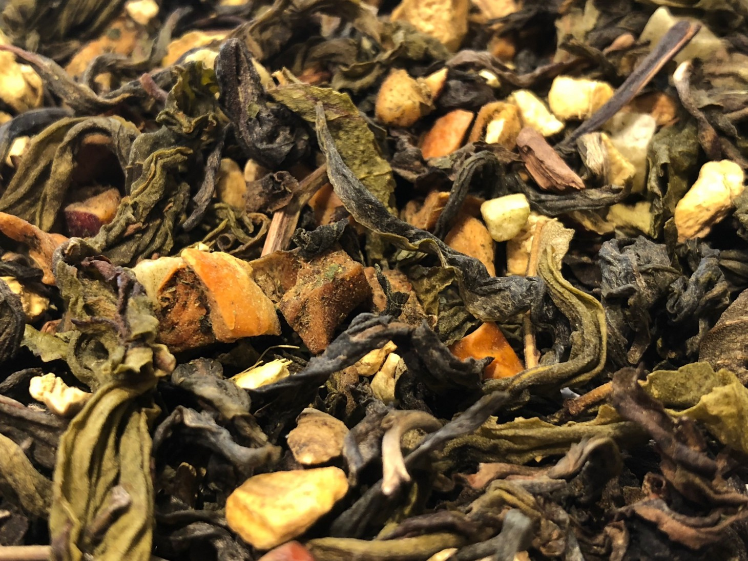 Thai Choui Fong Yellow Tea, Mango, Ginger, Orange