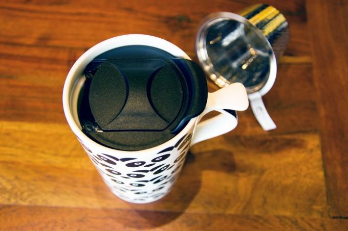 mug tisanière a thé panda