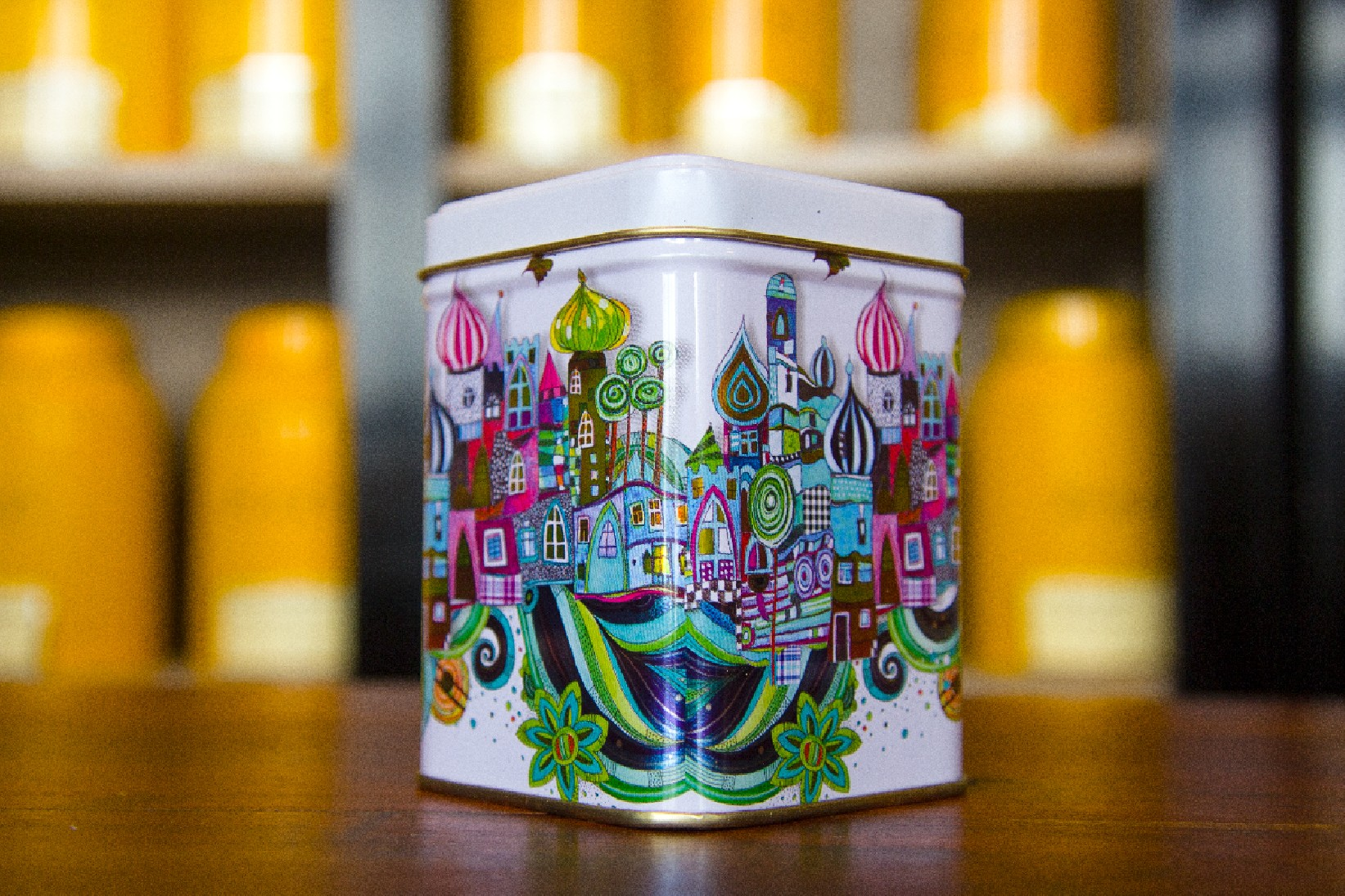 Boîte a thé look russe - Tea&Cie