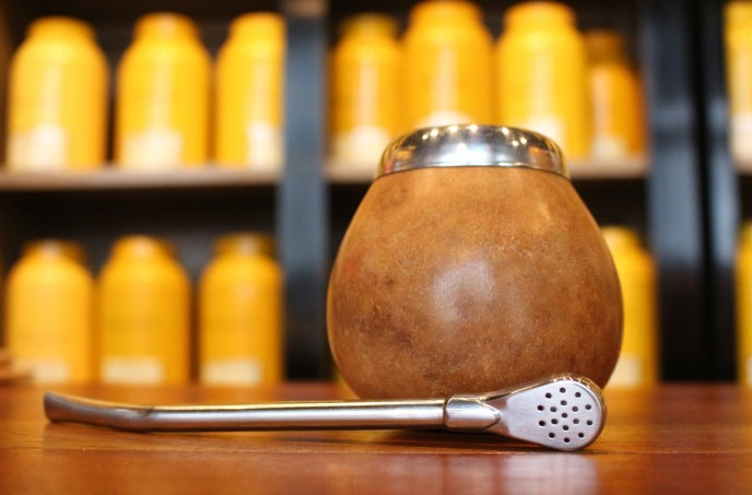 Bombilla et calebasse a maté - Maison de thé Tea&Cie