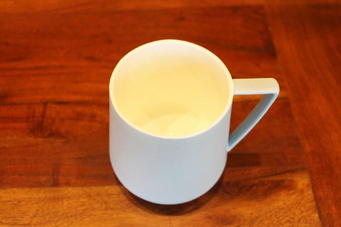 Tasse bleue mat - Maison de thé Tea&Cie