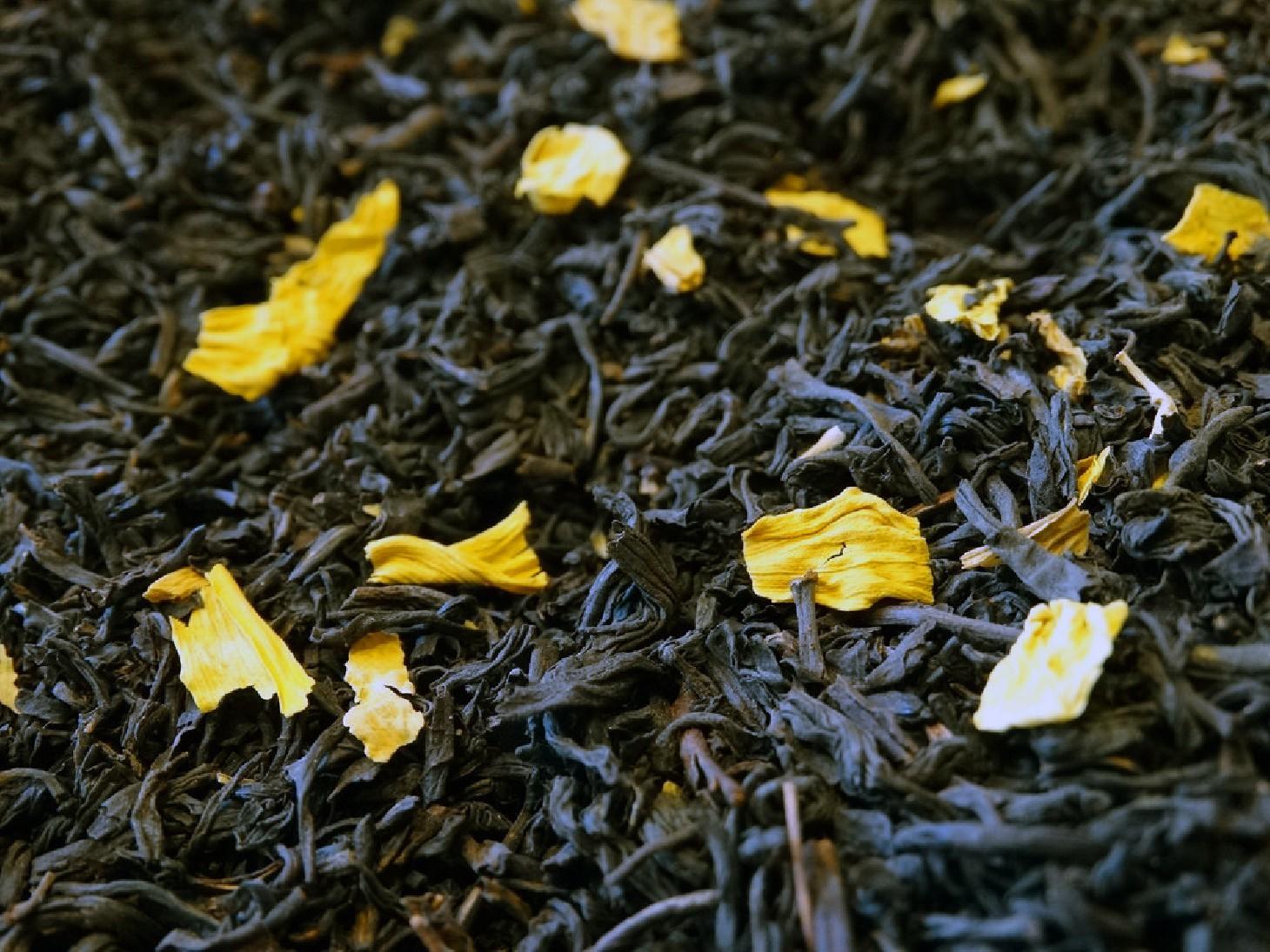 thé noir aux amandes par tea & cie