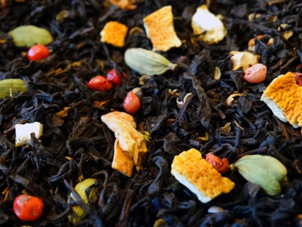 Tea Russian taste, bergamot, spices, citrus fruitsmaison de thé tradition