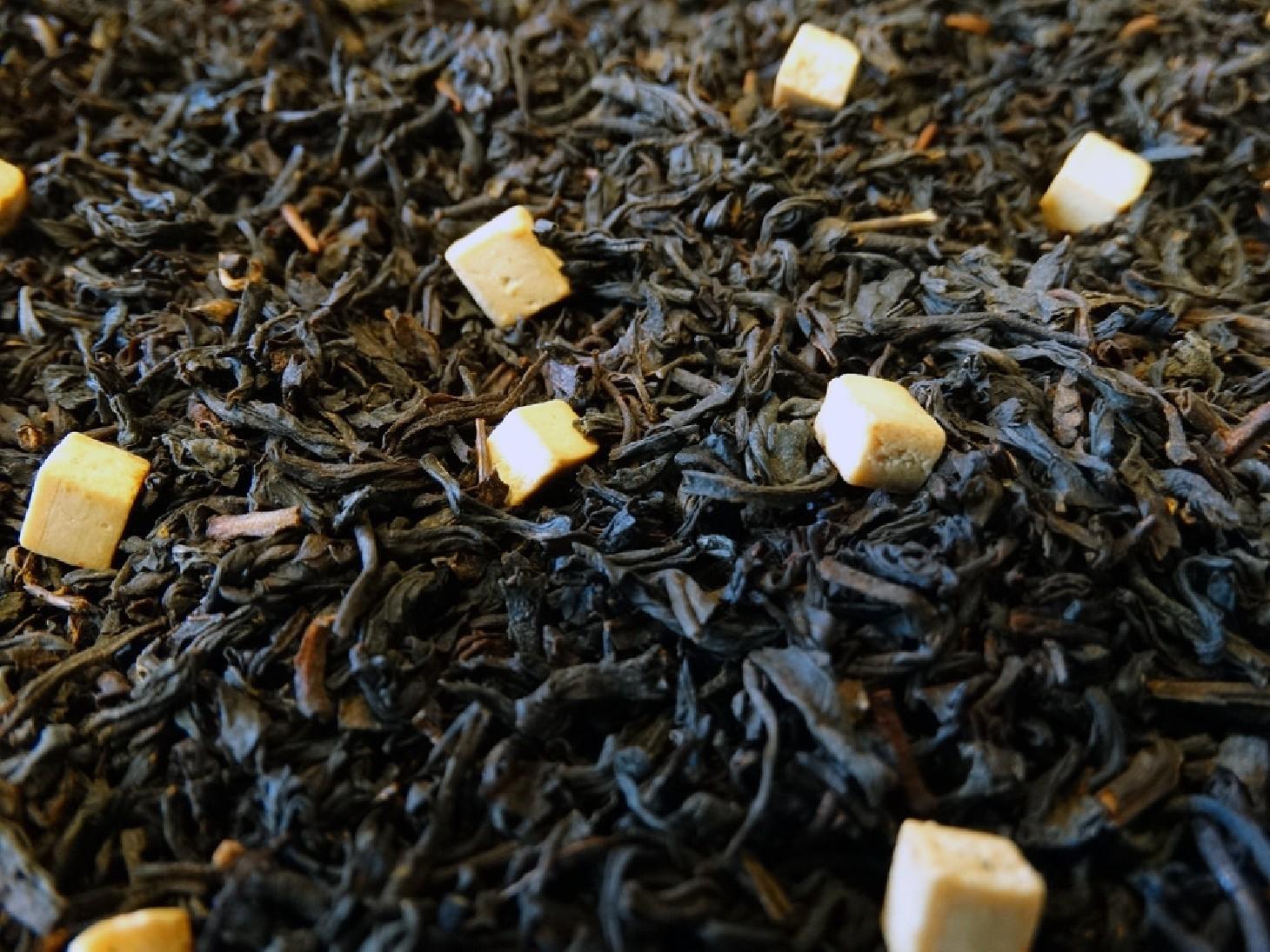thé noir au caramel morceaux par boutique de thé