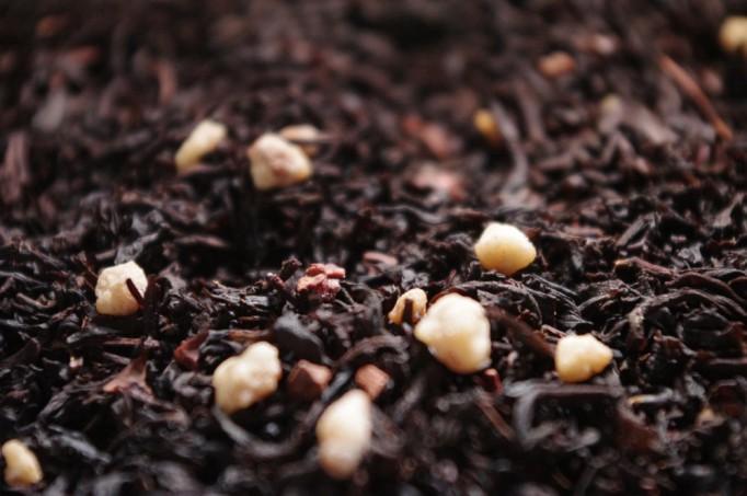 Churchill thé noir aromatisé par Tea & Cie caramel vanille moka cacao best seller