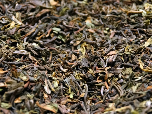 Pure Darjeeling black tea.