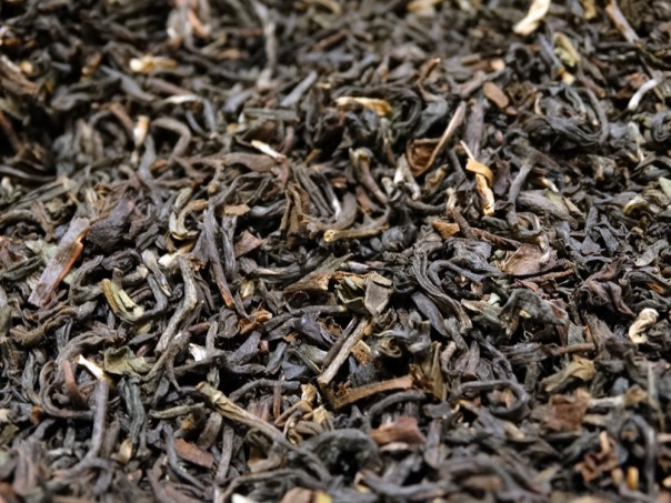 A blend of black tea  from Darjeeling