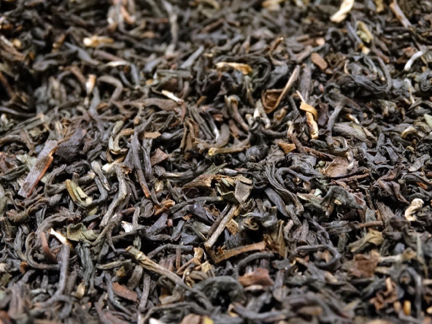 A blend of black tea  from Darjeeling