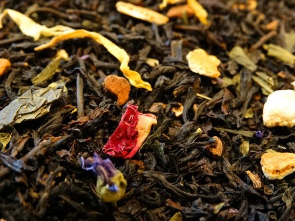 thé de noel maison tea & cie noël comptoir de thé noir et ver épices agrumes vannes