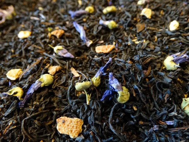 Green and Black Tea, Citrus, Spices, Cocoa