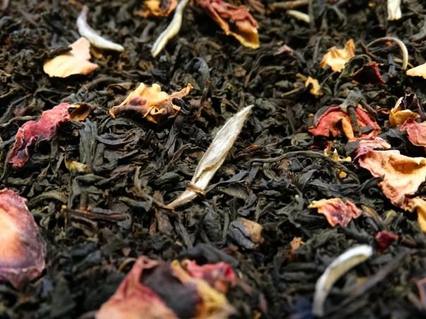 thé noir aromatisé bergamote lavande sélection tea & cie comptoir en ligne