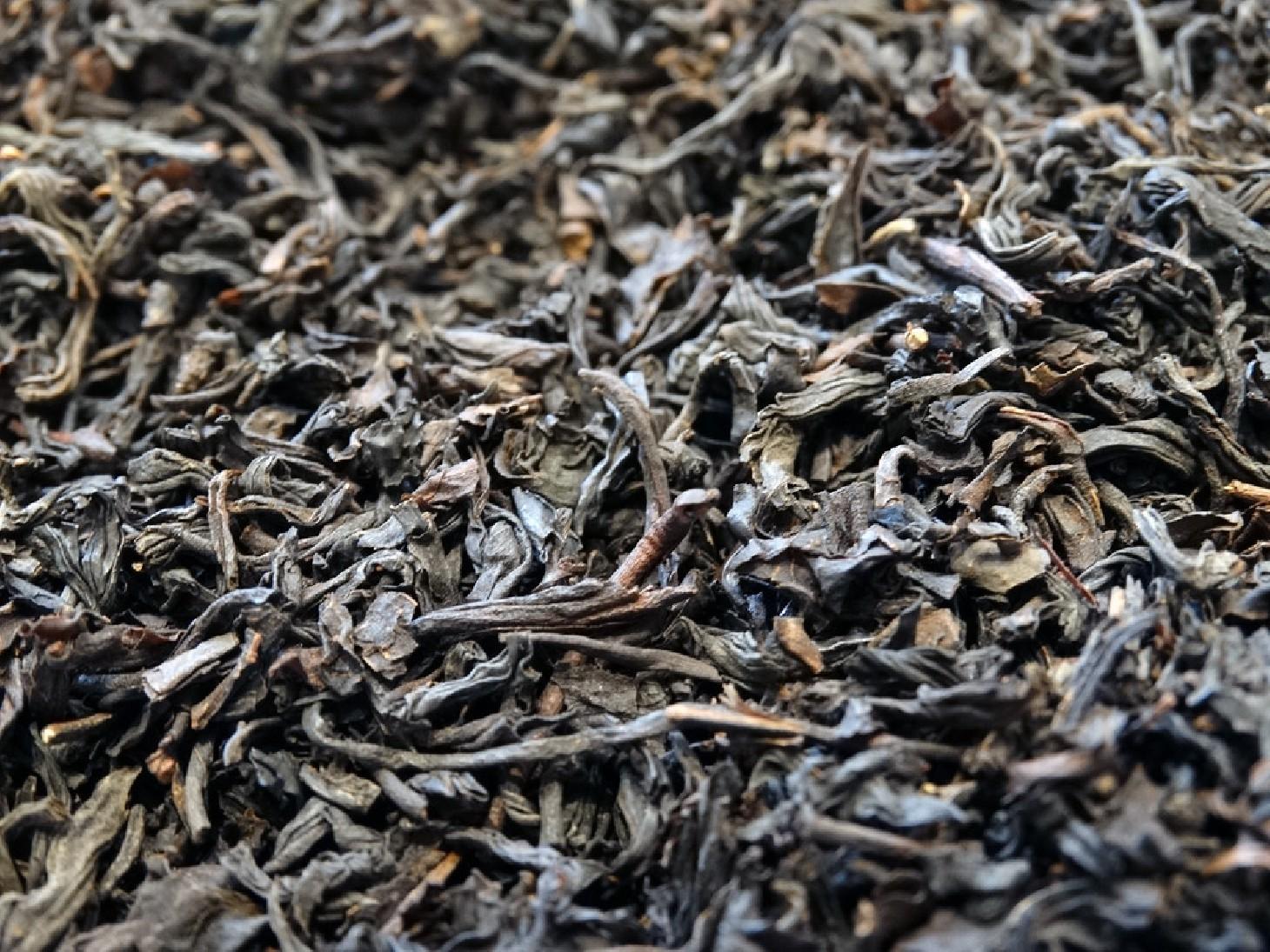 Smoked black tea, China